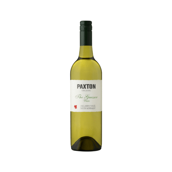 The Guesser Organic White Wine, Paxton Wineries, McLaren Valley, Australia