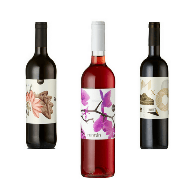 Trio of Mixed Organic Wines | Quirky Wines | Tinedo, Spain
