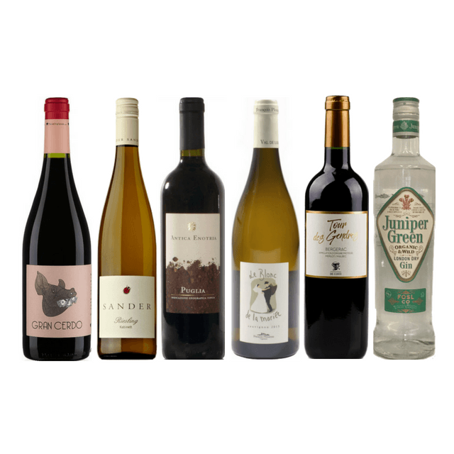Taste of Organic Wine Club | 10 Delicious Natural Wines | Organic London Gin