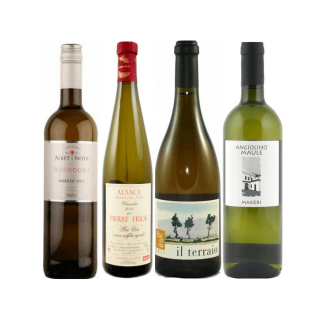 Taste of Organic Wine Club | 8/12 Natural White Wines