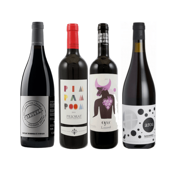 Taste of Organic Wine Club |  Spanish Garnacha 4 Ways | Case of 8/12 Wines