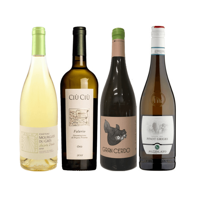 Taste of Organic Wine Club | 8/12 Natural White Wines | Great Value Wines
