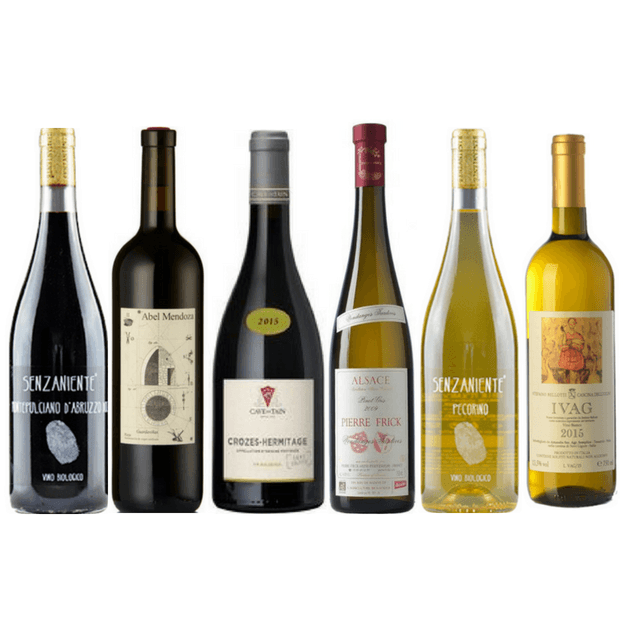 Taste of Organic Wine Club | 6 Premium No Sulphites Added Wines