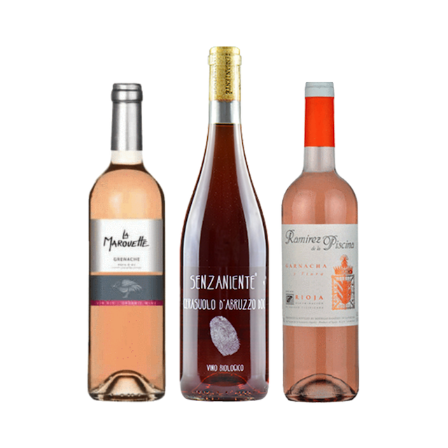 Taste of Organic Wine Club | Case of 6 Natural Rose Wines