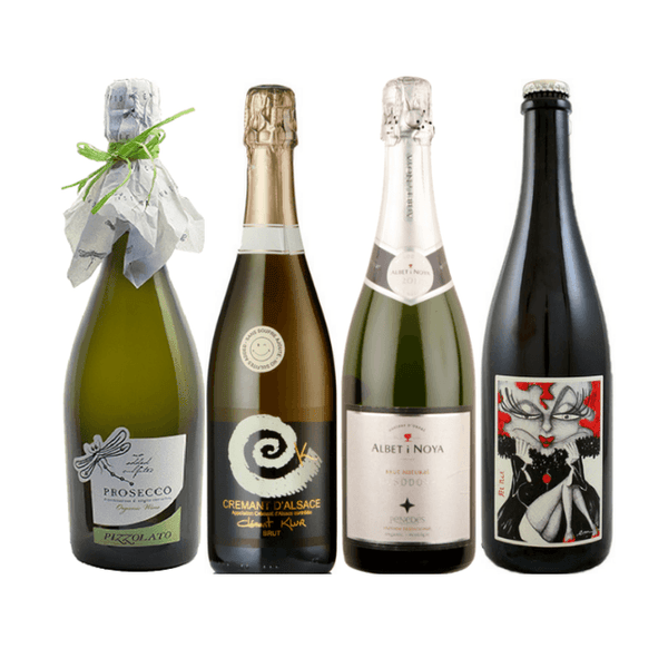 Taste of Organic Wine Club | Case of 8 No Added Sulphites Sparkling Wines