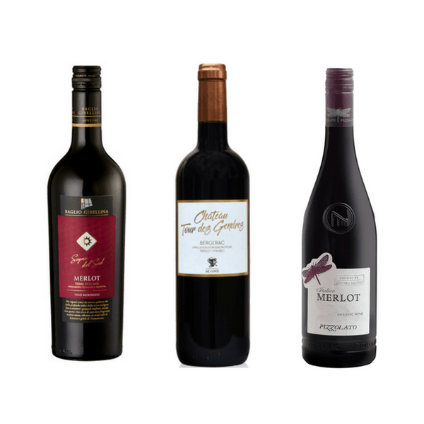 Taste of Organic Merlot: Organic Wine Club Case of 6 Merlot Wines