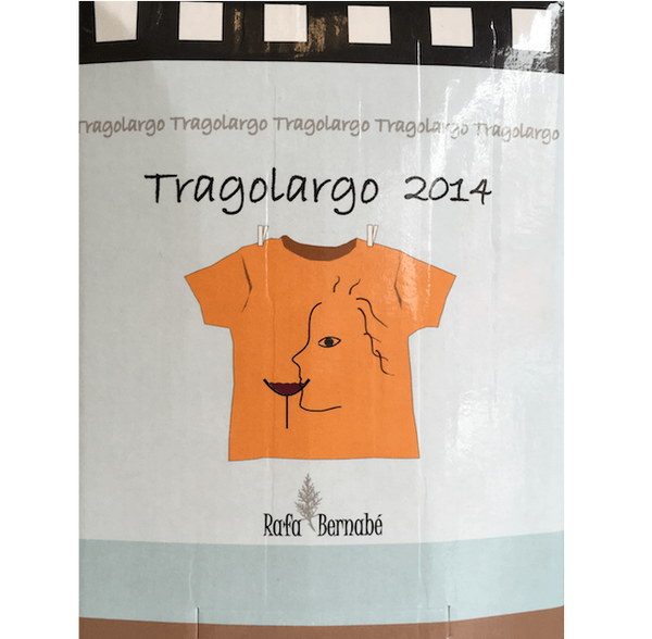 Tragolargo 2014, Monastrell, Bodegas Bernabe Navarro, Spain (5L Wine in a Box) - Organic Wine Club