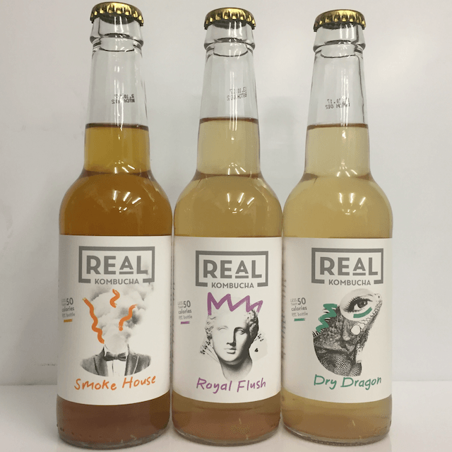 Trio Pack to Taste Kombucha, Real Kombucha, UK (3 pack)