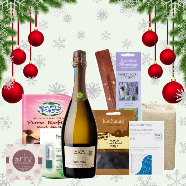 Festive Season's Gifts | Prosecco & Pamper Gift for One