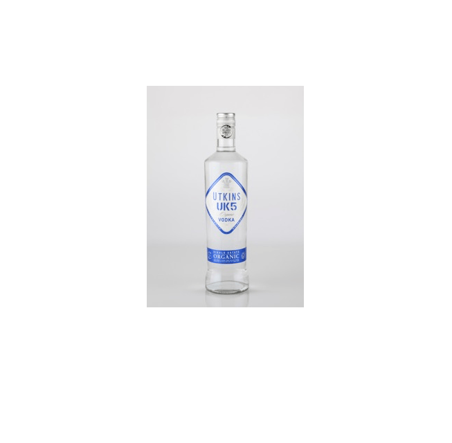 Utkins UK5 Single Estate Organic Vodka - Naturally Smooth - Organic Wine Club  - 2