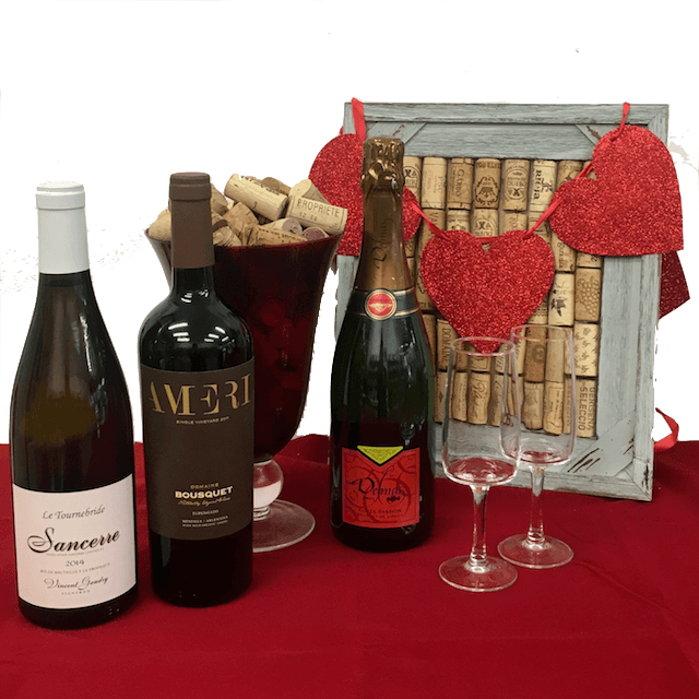 Valentine's Gift: trio of organic wines - Organic Wine Club
