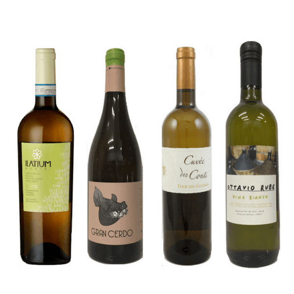 Vegan Wine Case - 8/12 Natural & Allergn Free Organic White Wines