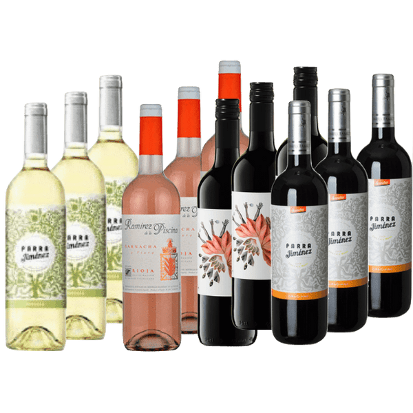 Organic Wine Club Mixed Case | Vegan & Low Tannin Wine Case | 12 Organic Wines