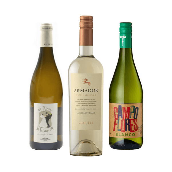Organic Wine Tasting | 3 White Wines | Made from Sauvignon Blanc