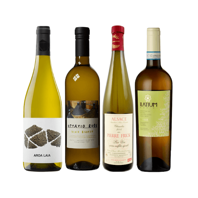 Strictly No Sulphites Added Wine Case | 8/12 Organic White Wines  5.00% Off Auto renew