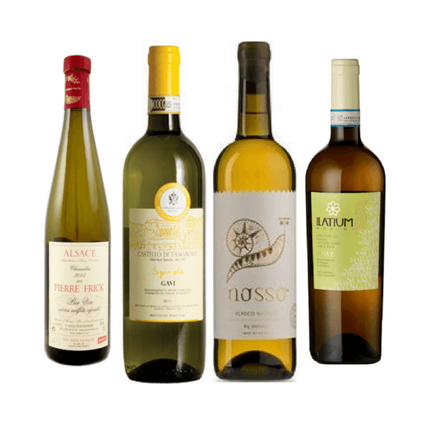 Strictly No Sulphites Added Wine Club Case | 8/12 Organic White Wines