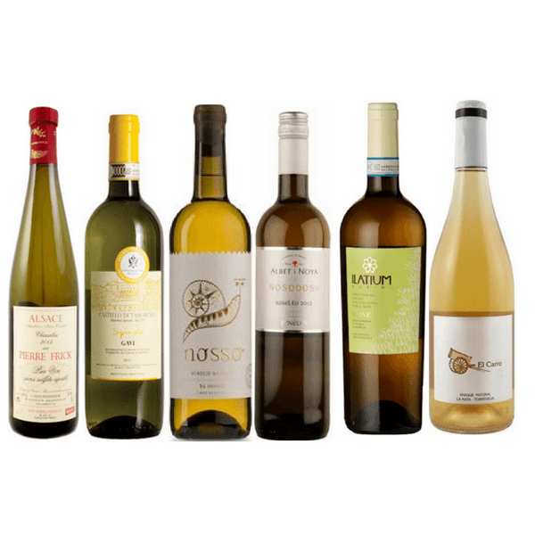 No Sulphites Added Wine Case | 6/12 White Organic Wines