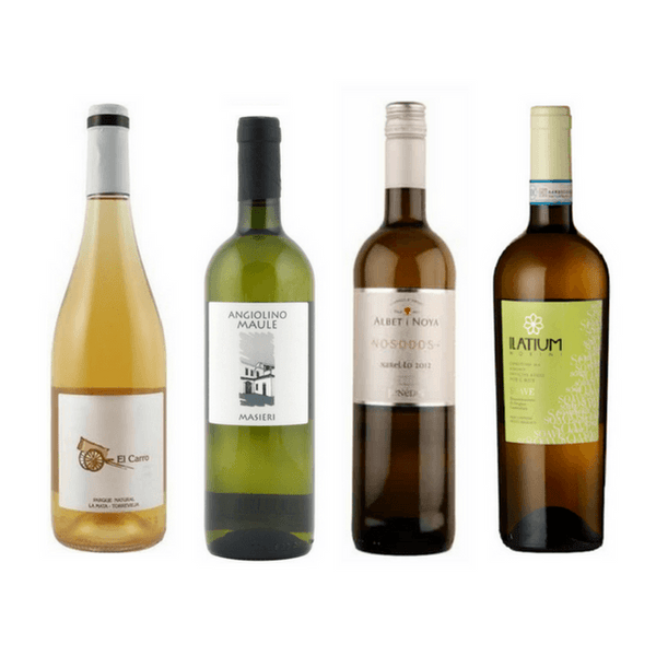 Strictly No Sulphites Added Wine Case | 8/12 Organic White Wines