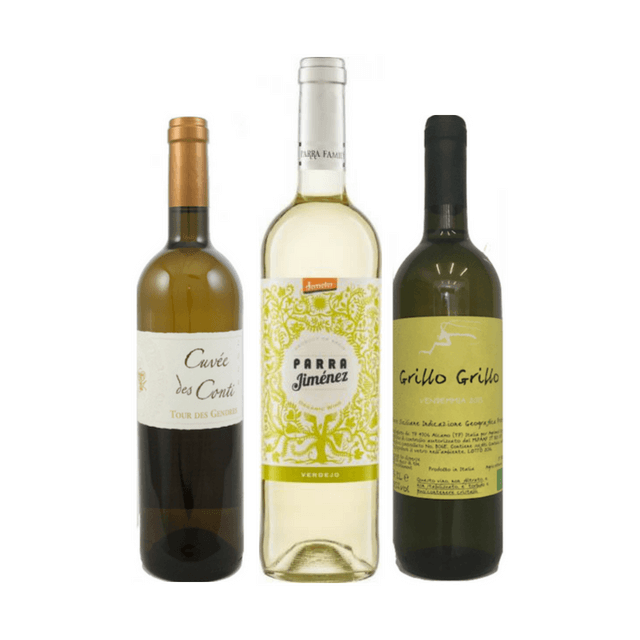 New2Natural | Wine Club Case of 6 White Wines