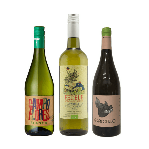 Best Value Wine Case | 6 Organic White Wines