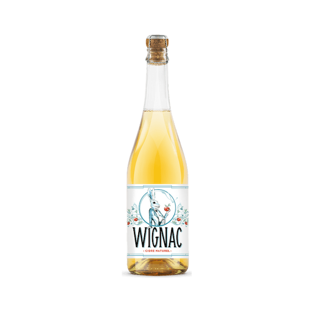 'The Hare' Wignac Natural White Cider, Ardennes, France 750mls