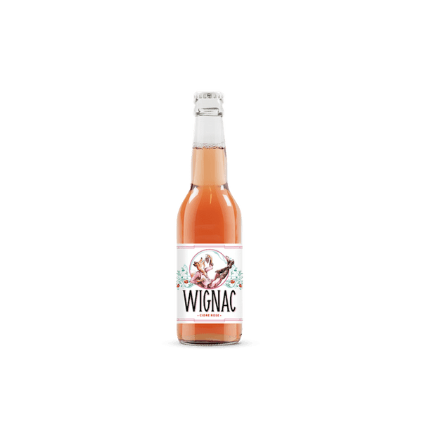 'The Goupil' Wignac Natural Rose Cider, Ardennes, France 330mls