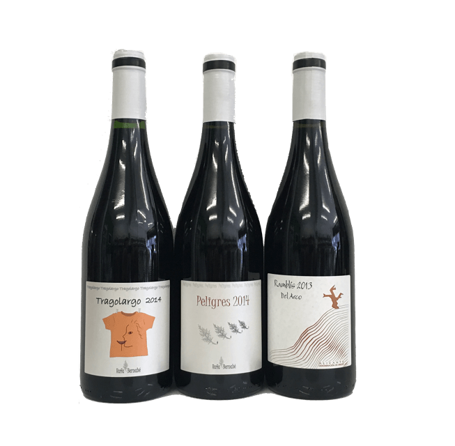 Advanced Natural Wine Tasting Pack: trio of wines with no added sulphites from Spain