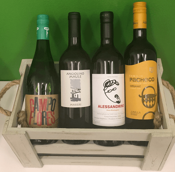 Organic Wine Offer Case of 12 wines (mixed)- Save over £40! - Organic Wine Club