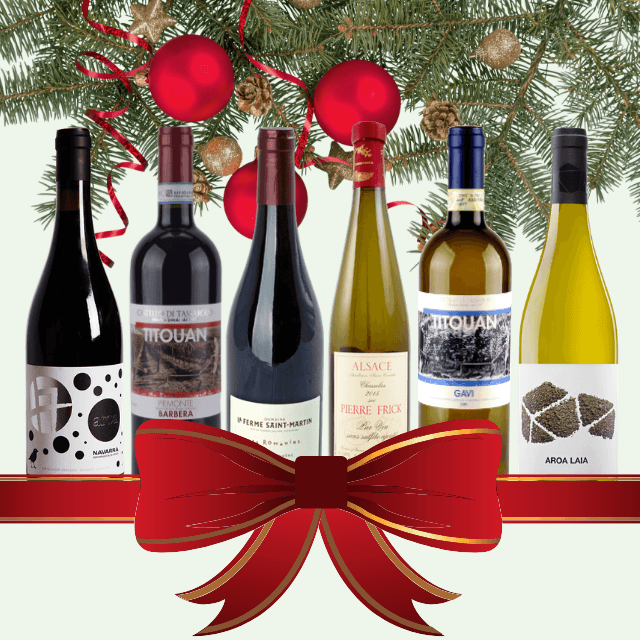 Festive Season's Wines | Case of 6/12 Assorted Organic Wines | No Added Sulphites & Vegan Friendly