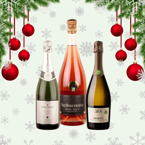 Festive Season's Wines | Trio of Sparkling Wines | Low Sulphur & Vegan Friendly