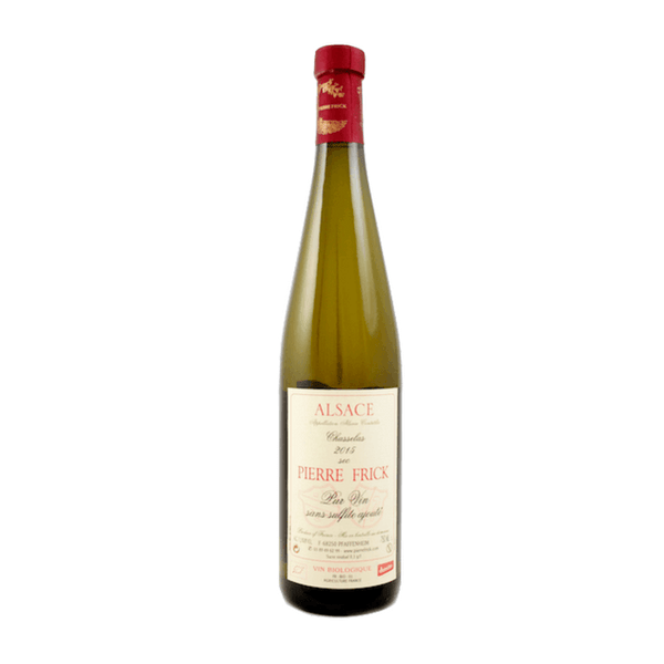 Pierre Frick Chasselas 2016 Alsace, France no added sulphites