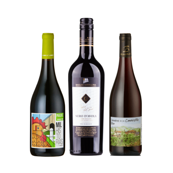 New2Natural | Wine Club Case of 6 Red Wines
