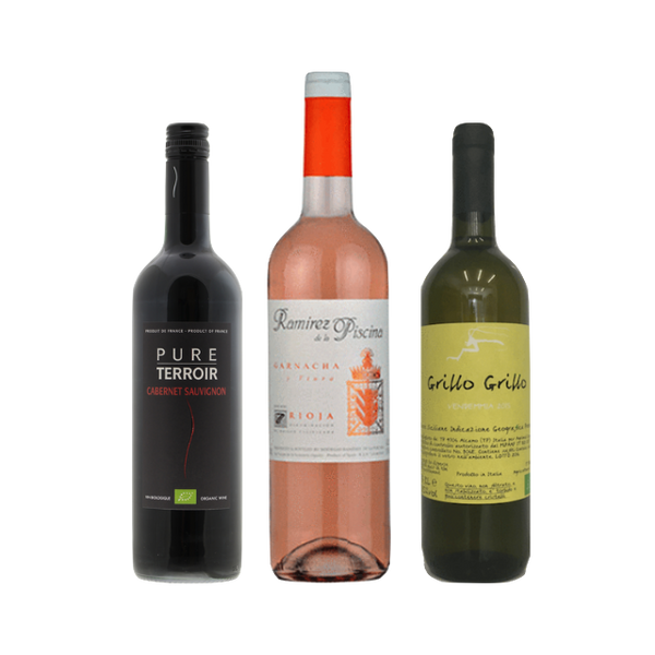 New2Organic | Wine Club Mixed Case of 6 Wines