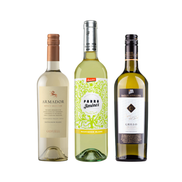 New2Organic | Wine Club Case of 6 White Wines