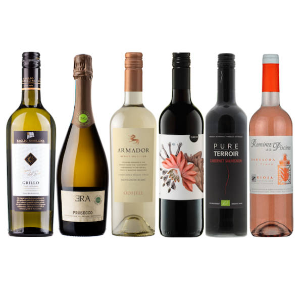 New2Organic | Wine Club Mixed Case of 12 Wines