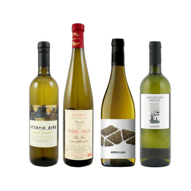 No Sulphites Added Wine Case | 8/12 Natural White Wines  5.00% Off Auto renew