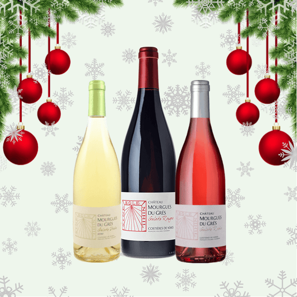 This Festive Seasons Wines | Trio of Assorted Wines | Low Sulphur & Vegan Friendly