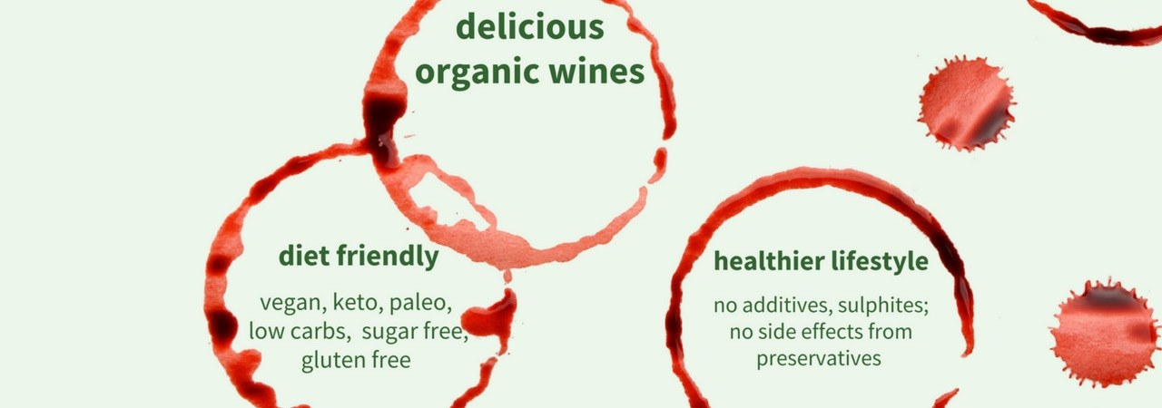 New to organic wine? Get wine voucher and buy a case of organic wine