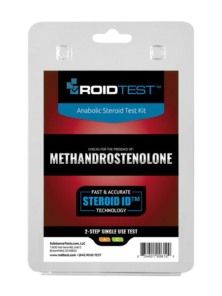 Methandrostenolone 2-Step Test | Roidtest Anabolic Steroid Test Kit