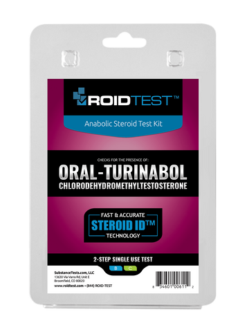 Oral Turinabol 2-Step Test | Roidtest Anabolic Steroid Test Kit