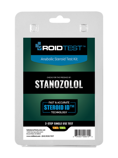Stanozolol 2-Step Test | Roidtest Anabolic Steroid Test Kit