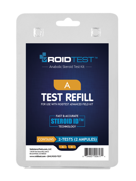 Substance Test A - ROIDTEST™ Refill (2 Tests) | Roidtest Anabolic Steroid Test Kit