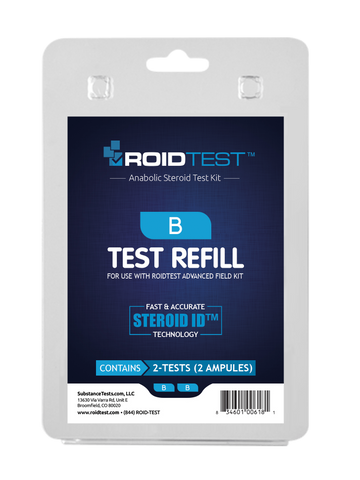 Substance Test B - ROIDTEST™ Refill (2 Tests) | Roidtest Anabolic Steroid Test Kit