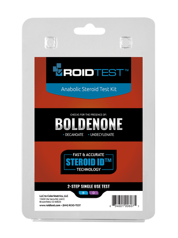 Boldenone Test Kit