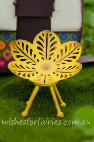 Yellow Flower Chair