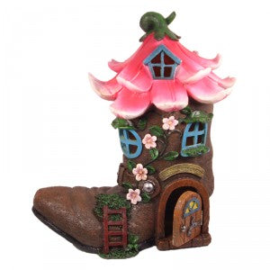 Flower Boot with Opening Door (LED)