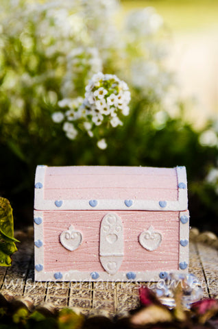 Pink Trinket Box Chest