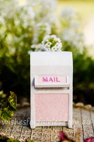 White Mail Box