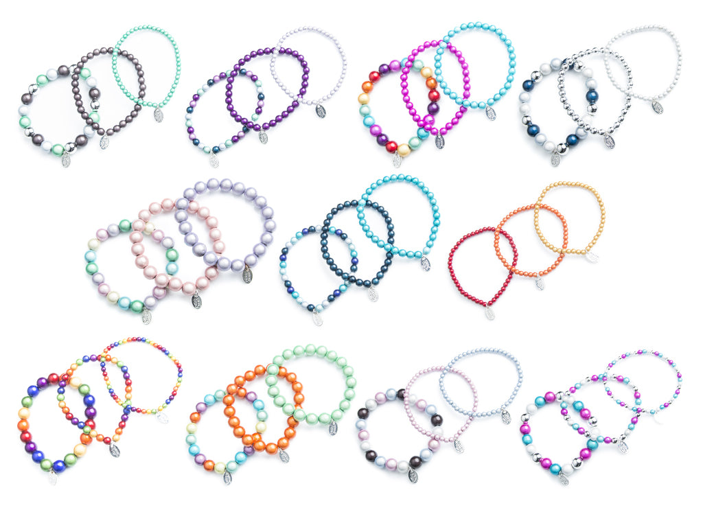 bracelet bundles - 3 beaded bracelets for only £10!