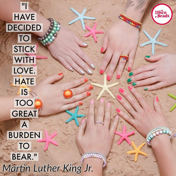 disco beads martin luther king